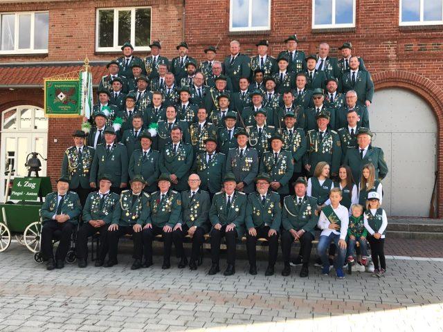 Gruppenfoto 4. Zug